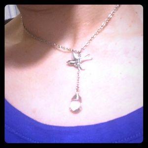 Cookie Lee Teardrop Necklace